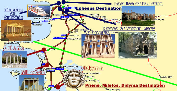 Create Your Ephesus Tour - The best and the most economical day Kusadasi Turkey